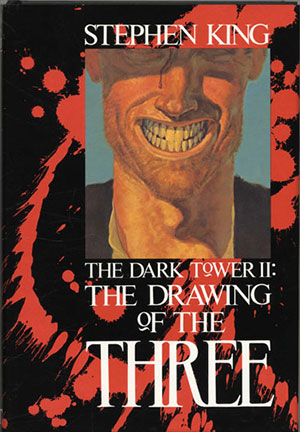 "Copertina della prima edizione di ""The Drawing of the three"""
